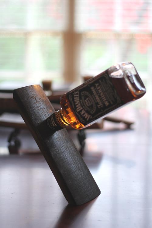 Heritage Handcrafted Barrel Stave Bottle Holder