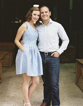 Sarah and Ben Collier