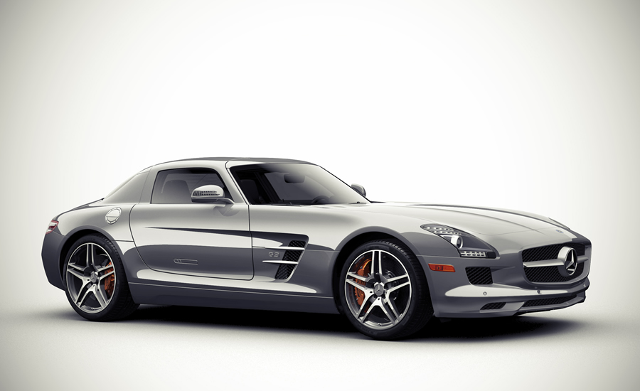 Mercedes Gull Wing SLS AMG