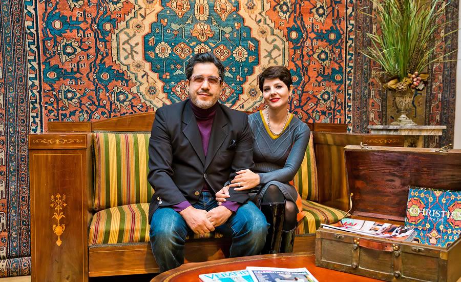 Vahid and Leila Zahabiuon