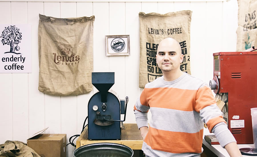 Tony Santoros of Enderly Coffee