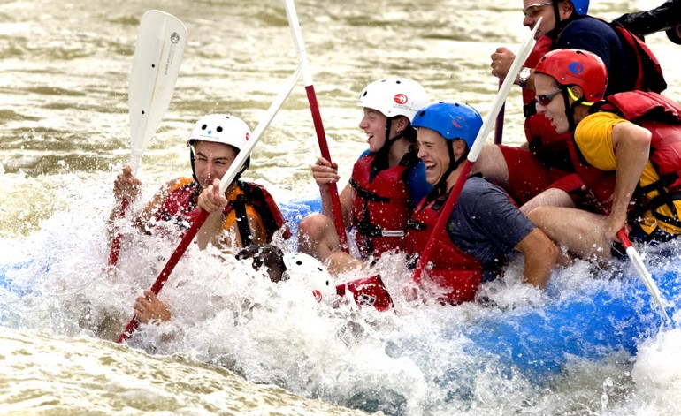 Whitewater Center Rafters