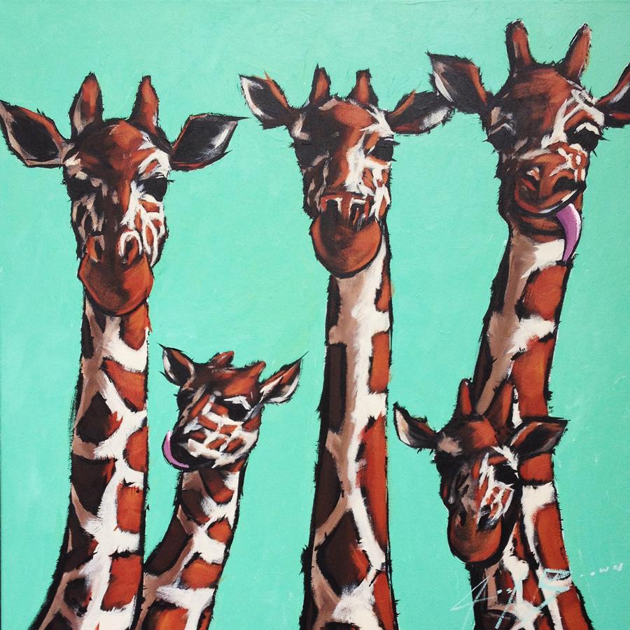 Josh Brown's Giraffes