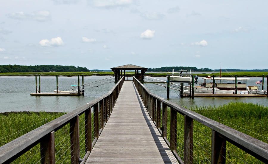 A Pier at Palmetto Bluff