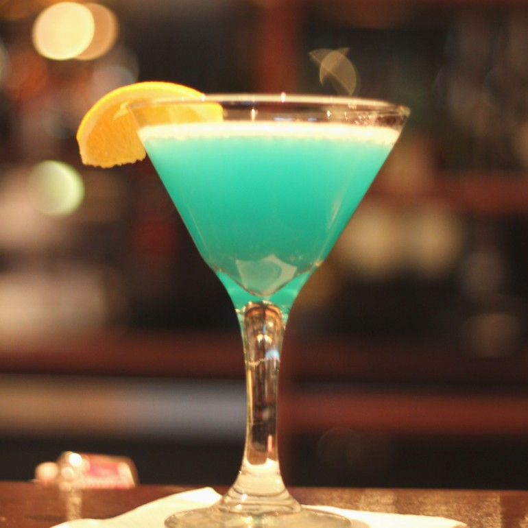 Mickey and Mooch's Blue Hawaiian