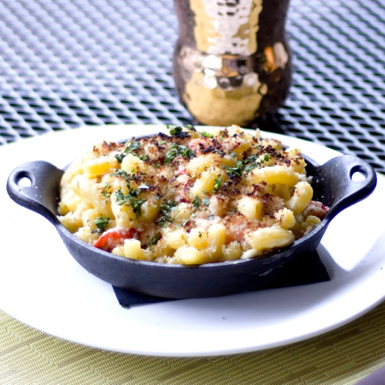 Napa on Providence's Lobster Mac and Cheese