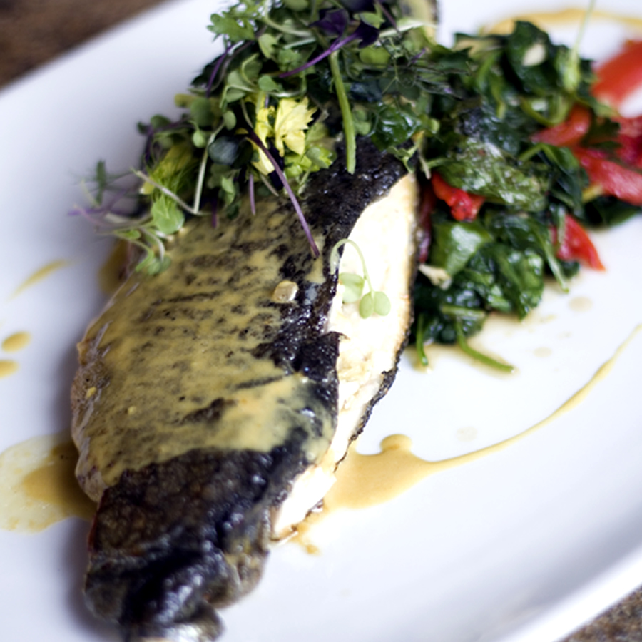 Napa on Providence's Stuffed Trout