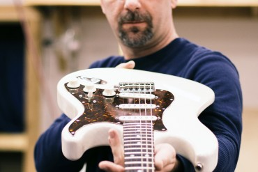 Nick Plescz of NC Guitar Works