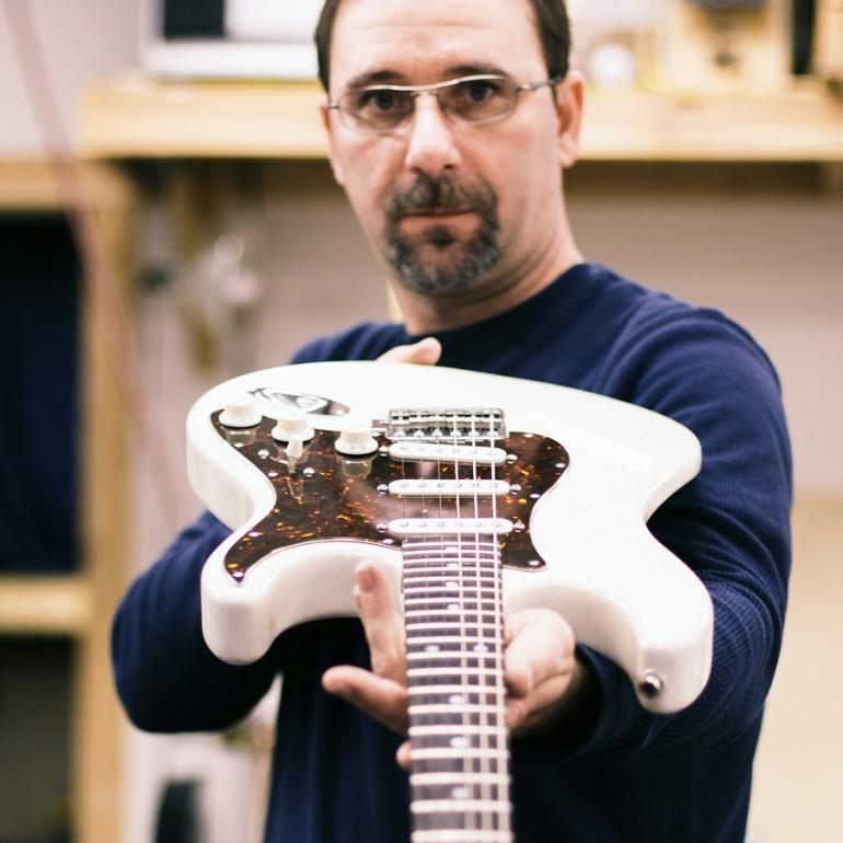 Nick Plescz of NC Guitar Works