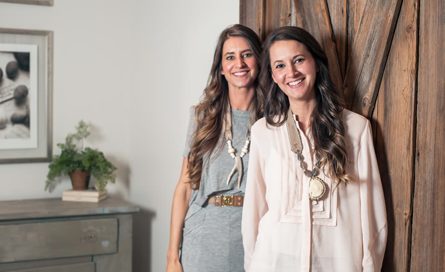 Elizabeth Stafford White and JaCquelyn Stafford Buckner of Twine and Twig