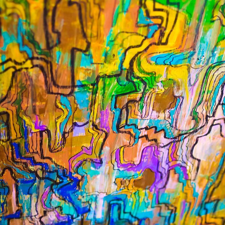 Charlotte's abstract art scene