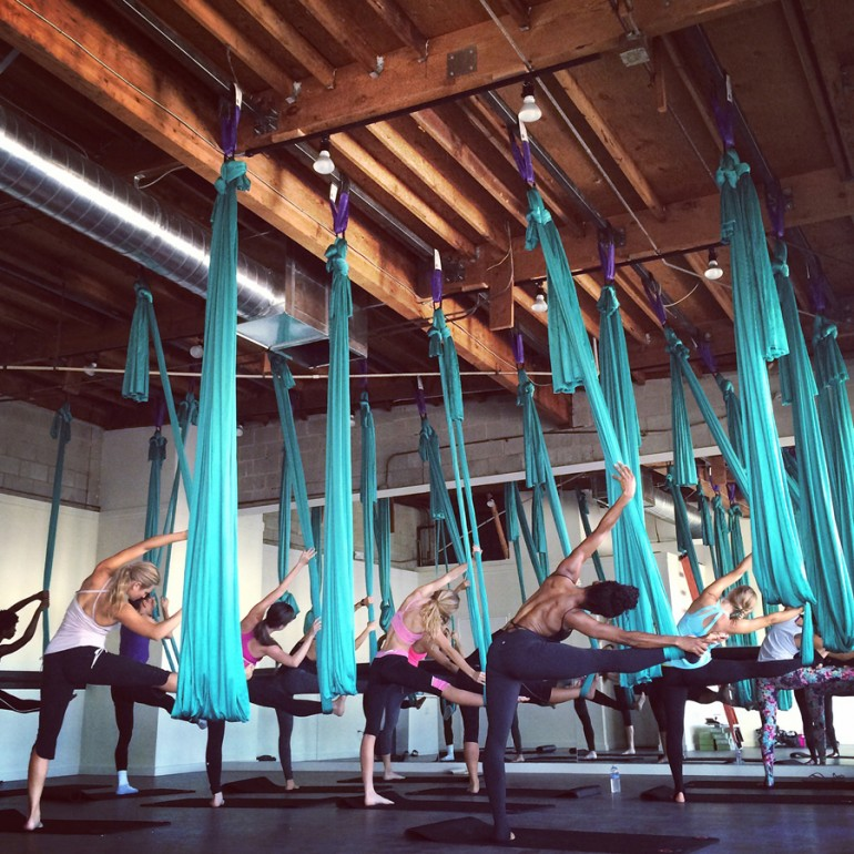 Class at AIR® aerial fitness