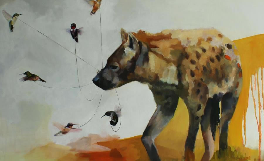 """Hyena and Hummingbirds"" by Alexandra Loesser"