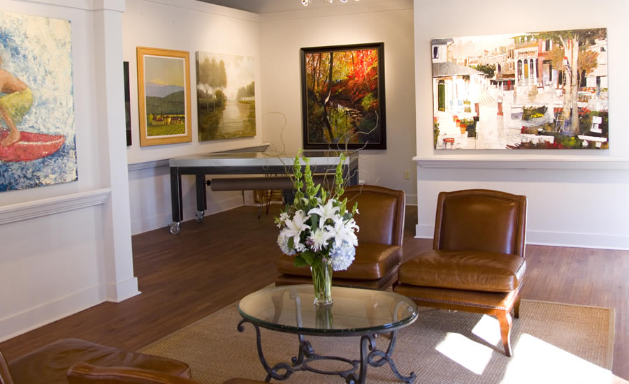 The top ten galleries in Charlotte