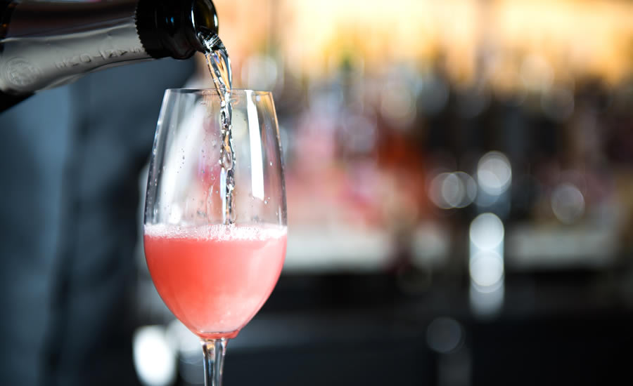 Gallery Restaurant's Bubblin' Berry