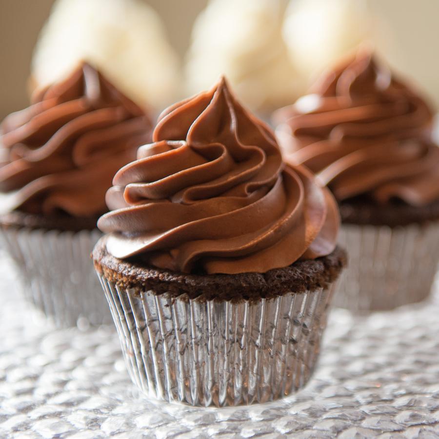 Perlmutter's Sinful Chocolate Cupcake