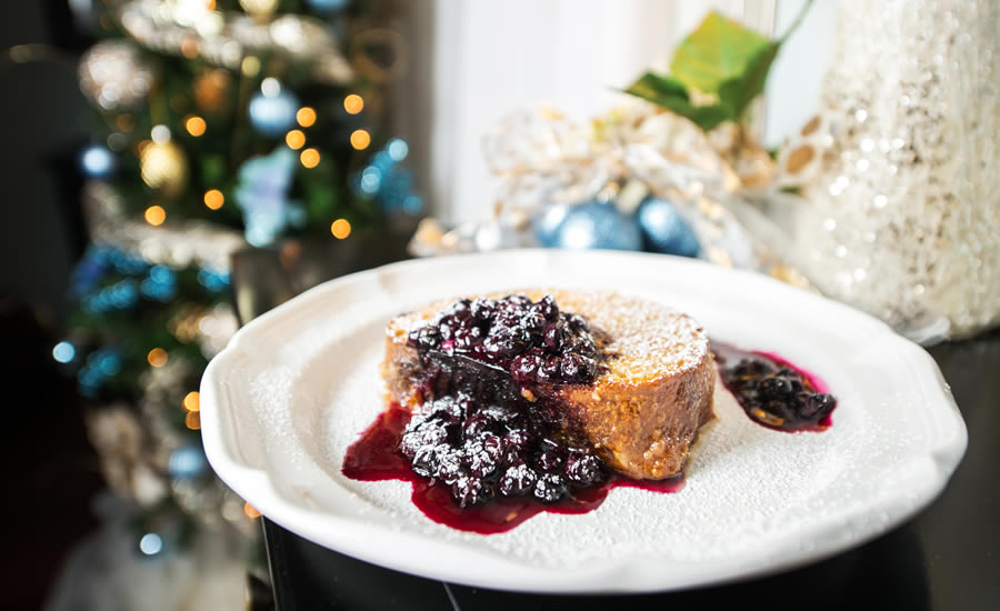 Claudia Teague's Creme Brulee French Toast
