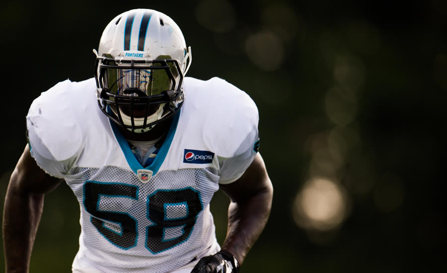 Thomas Davis, Carolina Panthers and Defending Dreams