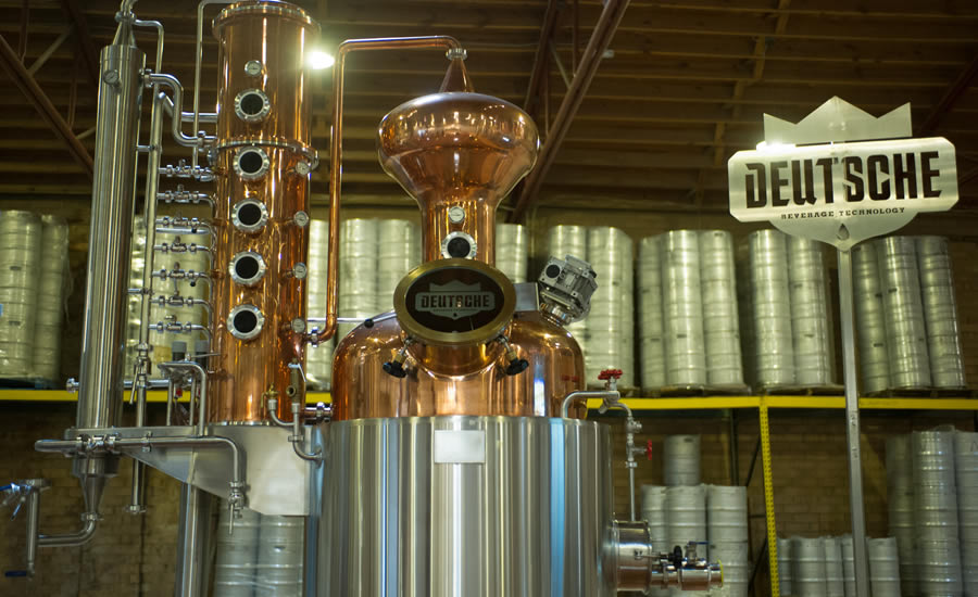 Custom equipment at Charlotte's Deutsche Beverage Technology