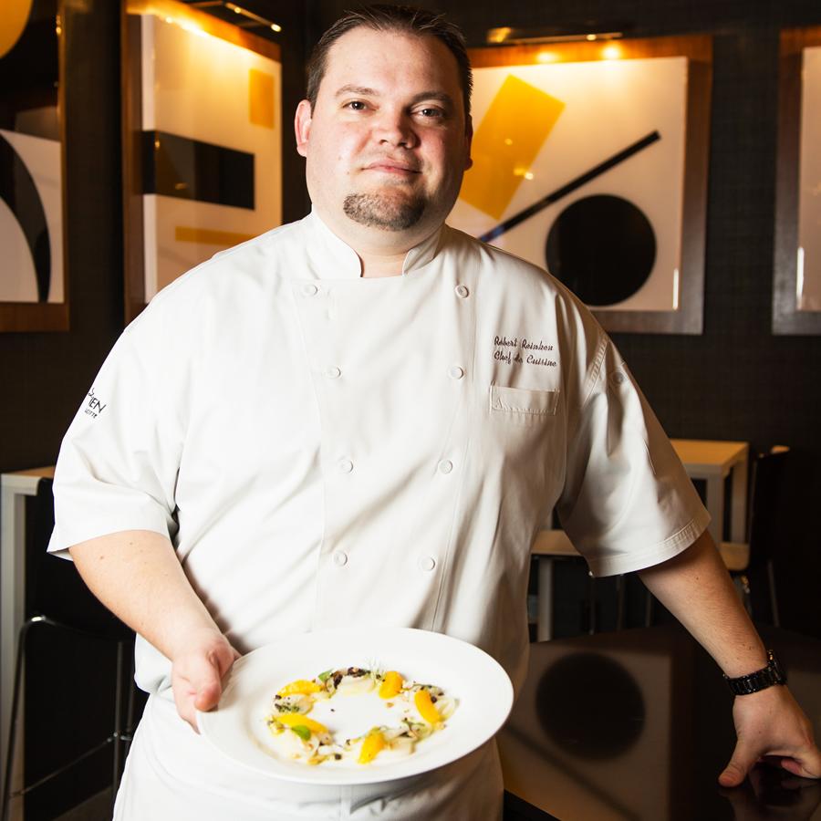 Evoke''s Chef de Cuisine Robert Reinken.