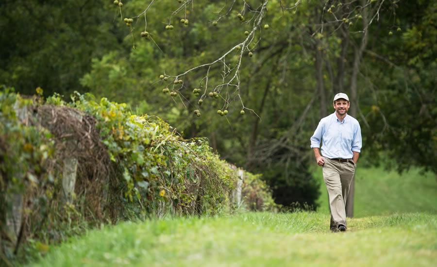 Tom Okel of the Catawba Lands Conservancy