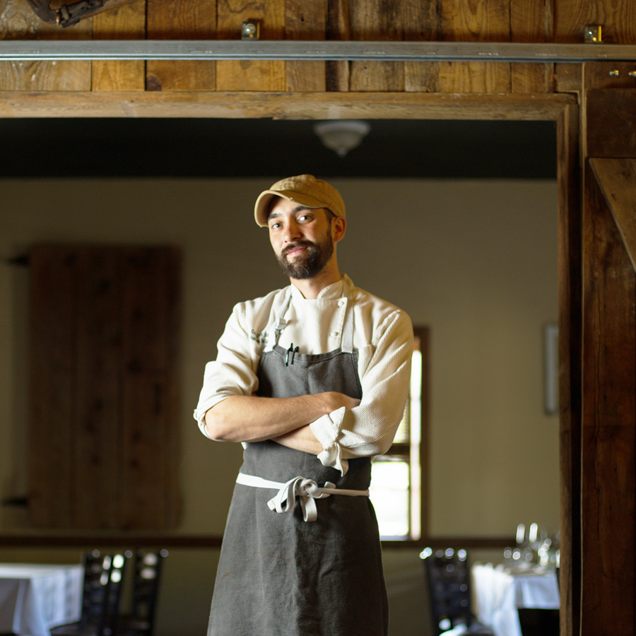 Chef Barlowe of Heirloom