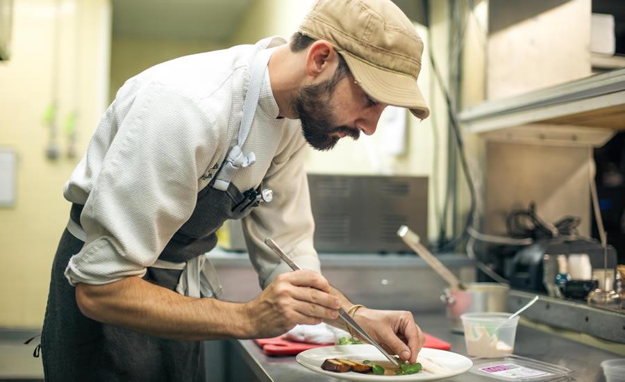 Chef Barlowe of Heirloom