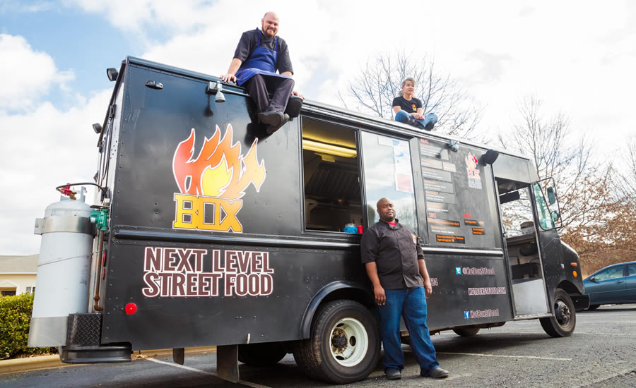 The Hot Box Food Truck