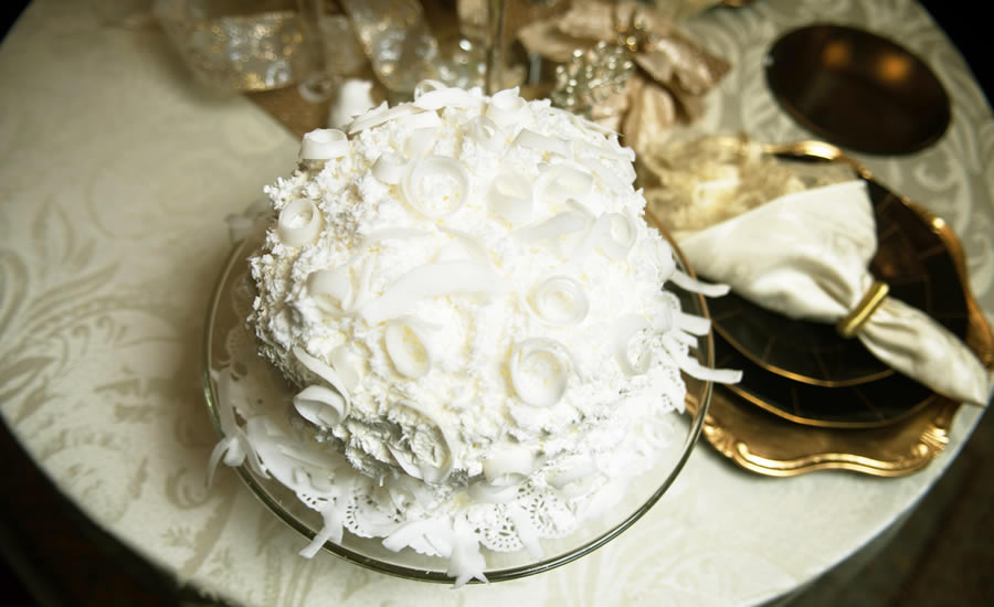 Ma Pinkie's Fresh Coconut Cake by Claudia Teague