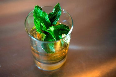 Smoked Mint Julep