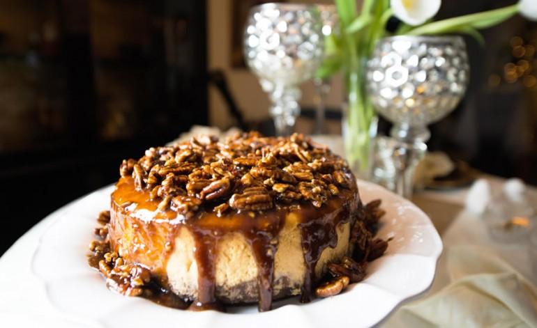 Claudia Teague's Old #3 Sweet Potato Cheesecake