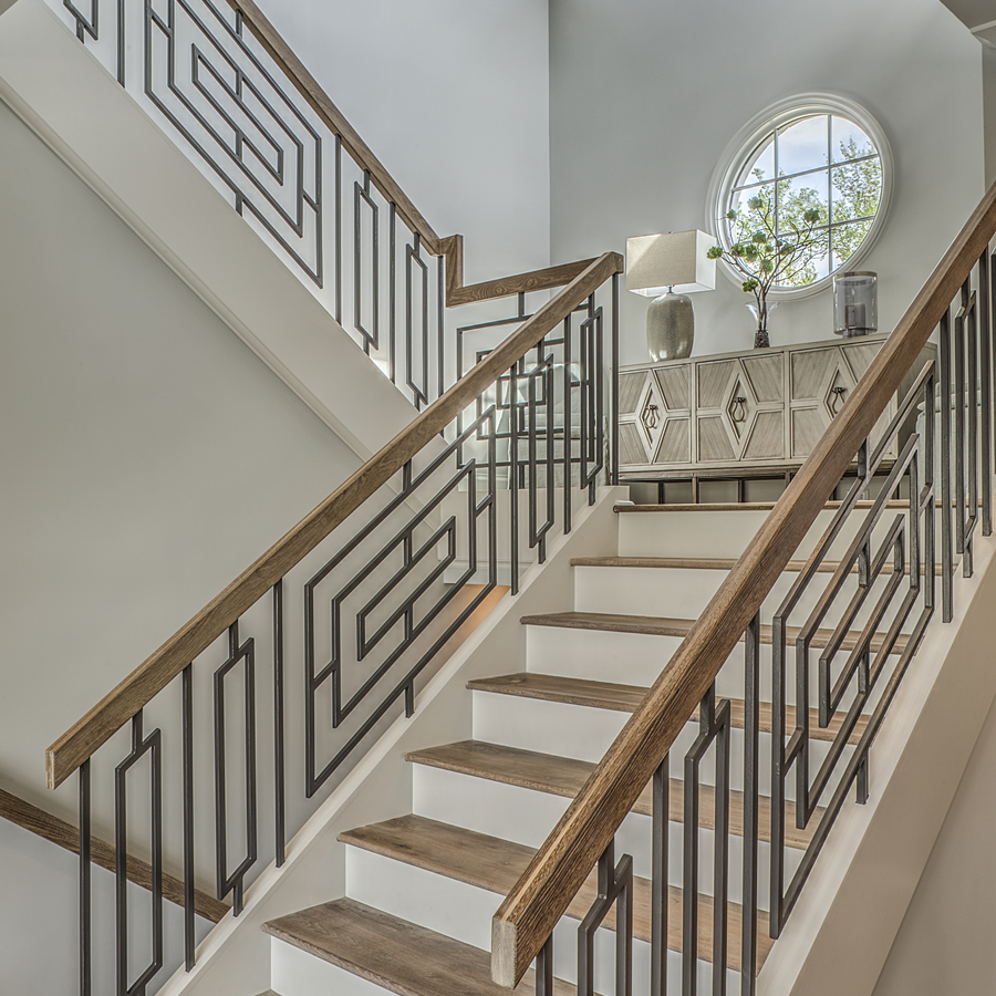 Decorating Stairs And Stair Railing: A Kingswood Custom