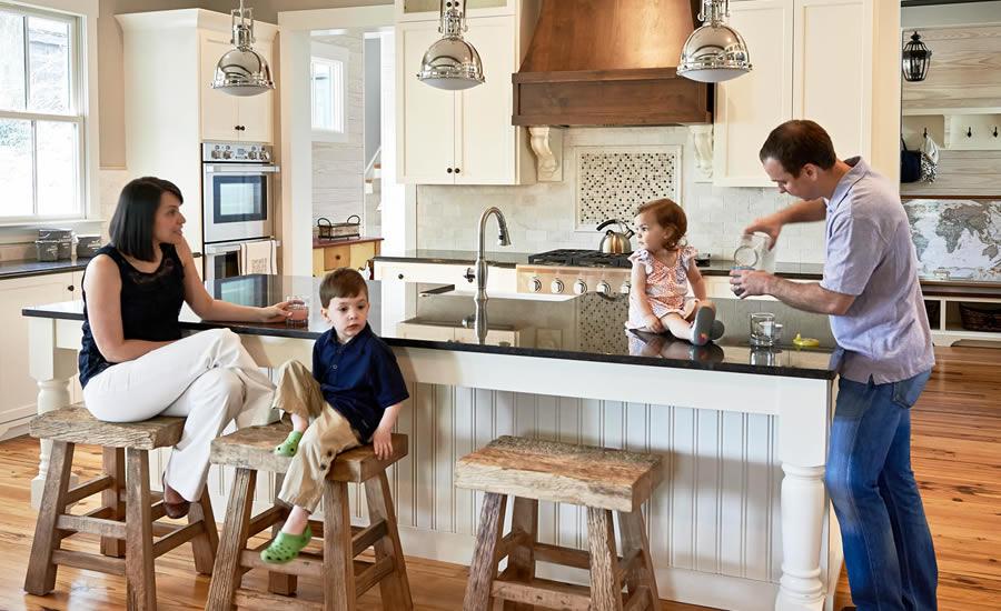 The Riley's Farm House Kitchen