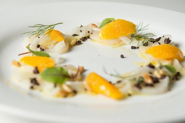 Scallop Crudo From Evoke
