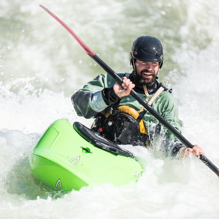 Cooper Lambla amidst USNWC rapids