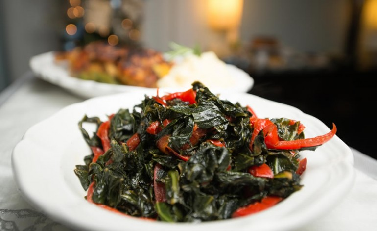 Claudia Teague's Collard Greens