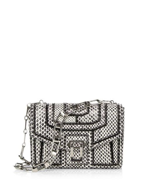 PROENZA SCHOULER – HAVA SNAKE PATCHWORK CHAIN SHOULDER BAG