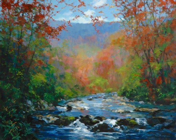 Exhibited: William Jameson's Carolina Creek Series
