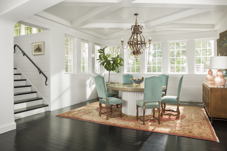 A gorgeous dining area