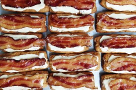Maple Bacon Bars