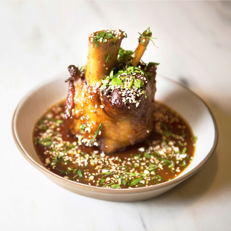 Stoke's Sticky Pork Shank - Photos by Jamey Price