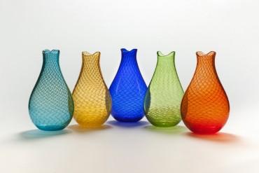 Fishnet Vase by John Geci