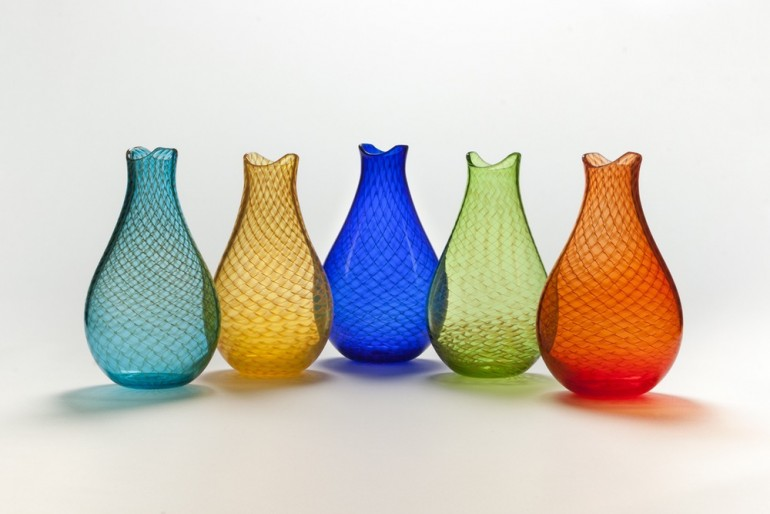 Fishnet Vase by John Geci