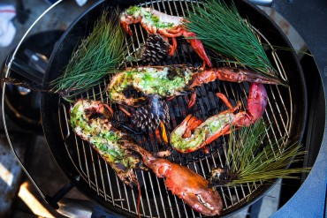 Feast of the Seven Fishes: Grilled Lobster