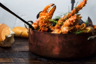 Feast of the Seven Fishes - King Crab Cioppino