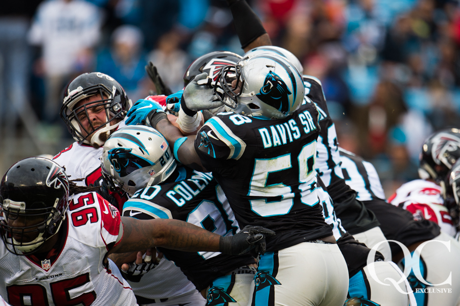 December 24, 2016: Carolina Panthers vs Atlanta Falcons ...
