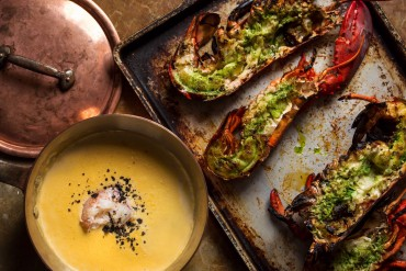 Feast of the Seven Fishes - Lobster Chowder