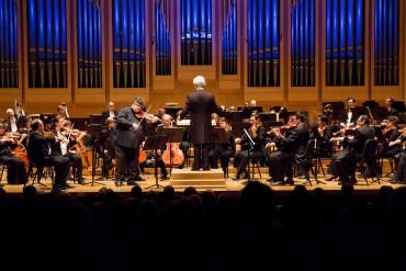 Calin Lupanu of Charlotte Symphony