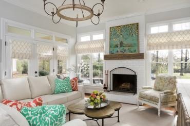 Lauren Clement's Family Room