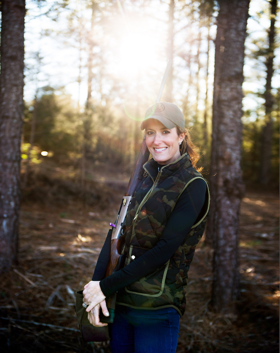 Amy Vermillion at Rocky Creek Sporting Clays